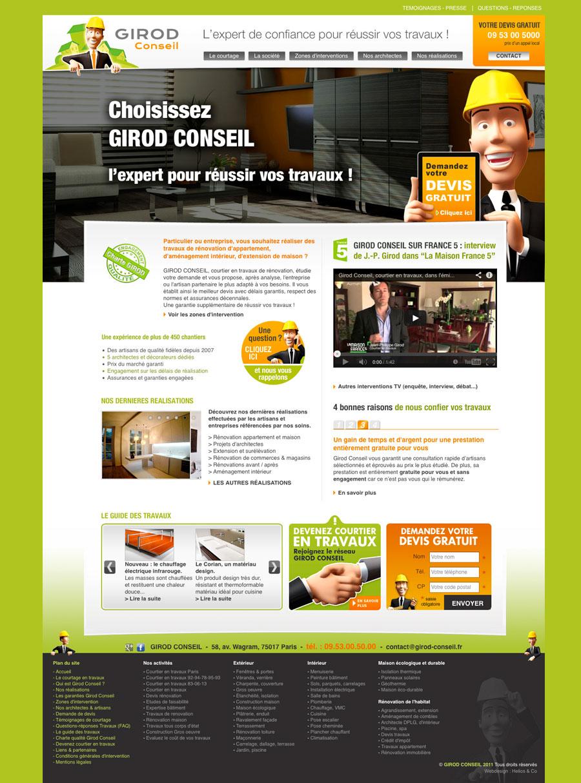 Refonte du site web girod-conseil.fr   CGC Studio 129fd0f62a6b